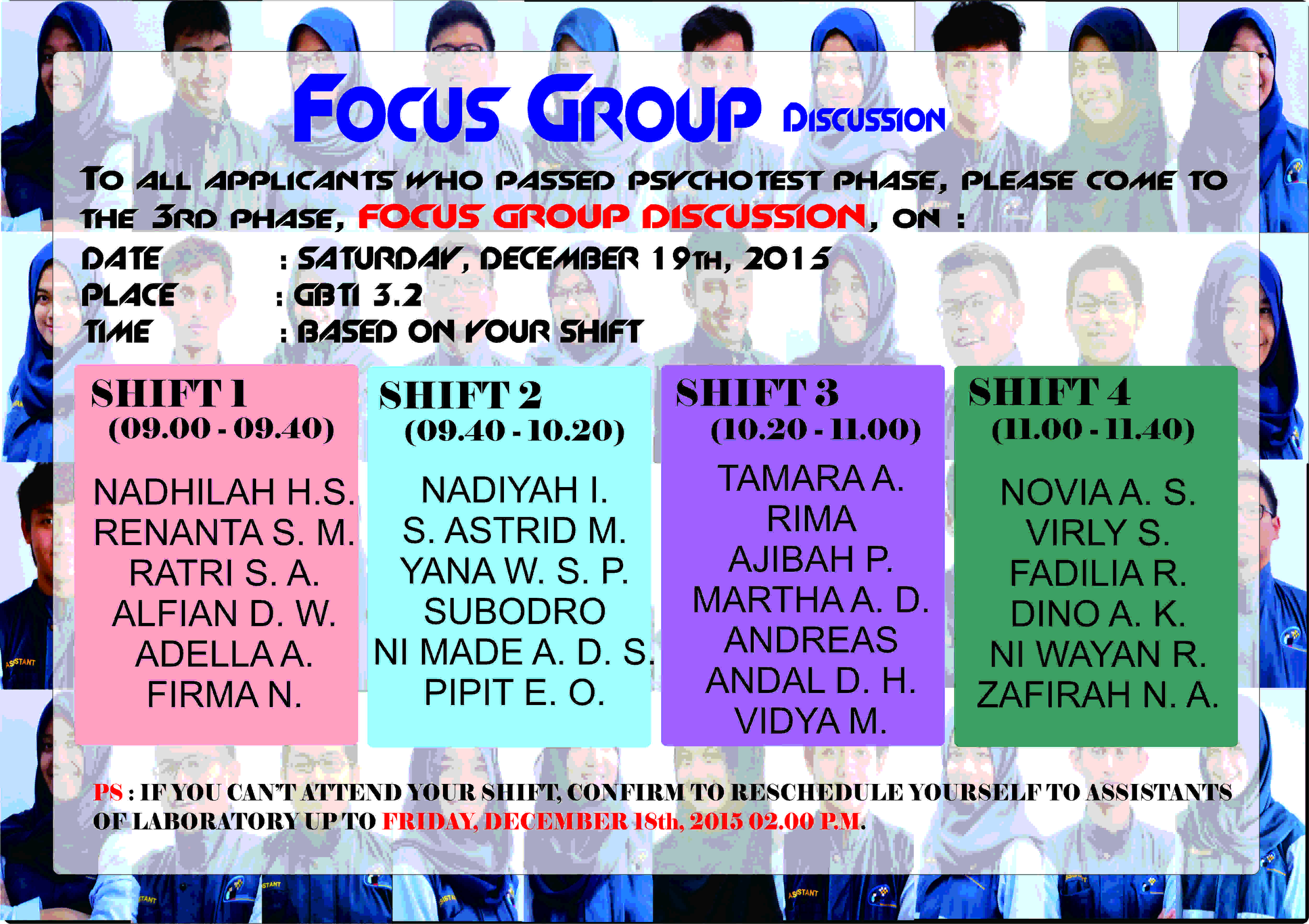 FGD STAGE