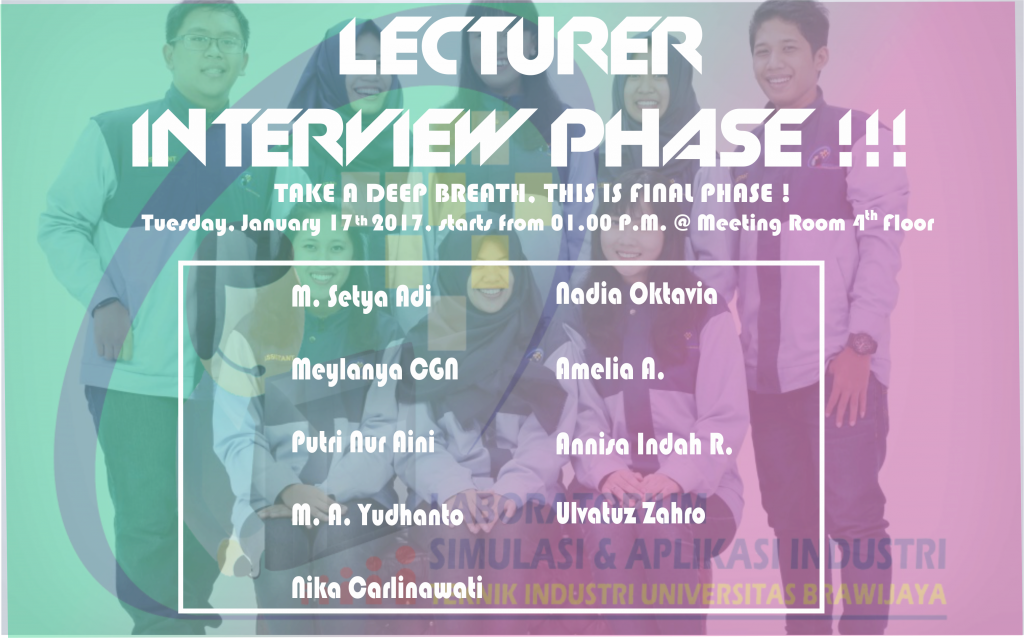 Interview Dosen