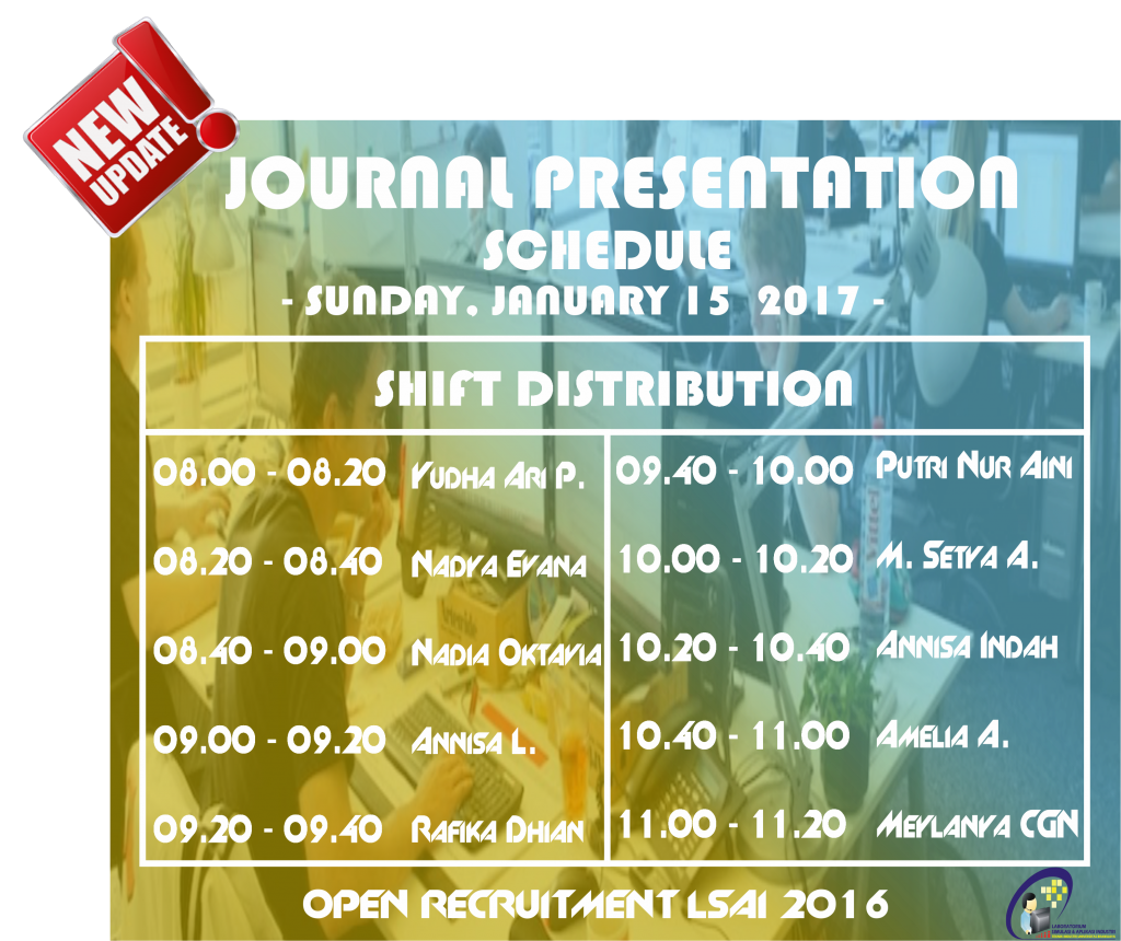 Journal Pres